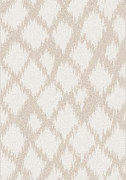 Tempo Kondela Koberec LIBAR, 100x150 - krémová / bílá + kupón KONDELA10 na okamžitou slevu 3% (kupón uplatníte v košíku)