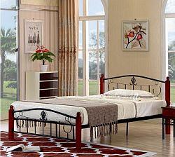 Tempo Kondela Kovová postel MAGENTA -  + kupón KONDELA10 na okamžitou slevu 10% (kupón uplatníte v košíku)