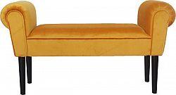 Tempo Kondela Lavice BURDA - medově hnědá / černá + kupón KONDELA10 na okamžitou slevu 3% (kupón uplatníte v košíku)