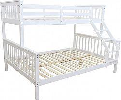 Tempo Kondela Patrová rozložitelná postel BAGIRA - bílá + kupón KONDELA10 na okamžitou slevu 10% (kupón uplatníte v košíku)