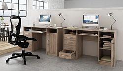 Tempo Kondela PC stolek B9 NEW - dub sonoma + kupón KONDELA10 na okamžitou slevu 10% (kupón uplatníte v košíku)