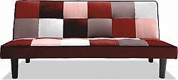 Tempo Kondela Pohovka, látka červená / bílá, Arlekin + kupón KONDELA10 na okamžitou slevu 10% (kupón uplatníte v košíku)