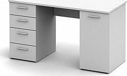 Tempo Kondela  stůl EUSTACH - bílý + kupón KONDELA10 na okamžitou slevu 10% (kupón uplatníte v košíku)