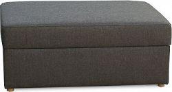 Tempo Kondela Taburet MONAKO - tmavě hnědý + kupón KONDELA10 na okamžitou slevu 10% (kupón uplatníte v košíku)