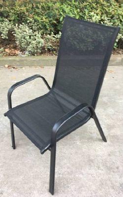 Tempo Kondela Židle ALDERA - tmavě šedá/černá