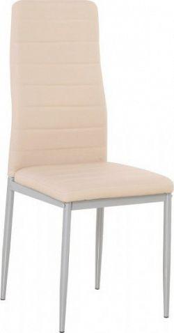 Tempo Kondela Židle COLETA NOVA - pudrová růžová ekokůže