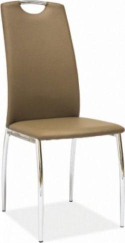 Tempo Kondela Židle ERVINA - béžová ekokůže