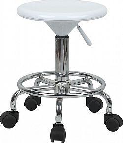 Tempo Kondela Židle MABEL 2 NEW - bílá / chrom