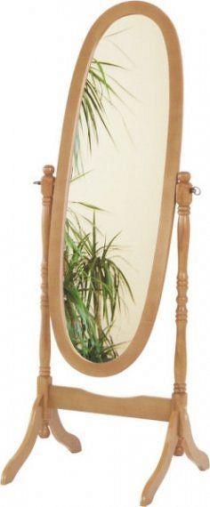 Tempo Kondela Zrcadlo 20124 - dub + kupón KONDELA10 na okamžitou slevu 10% (kupón uplatníte v košíku)