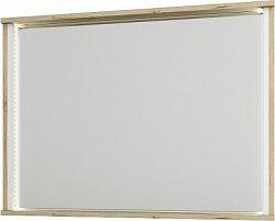 Tempo Kondela Zrcadlo LEIRA, dub wellington/bílá + kupón KONDELA10 na okamžitou slevu 3% (kupón uplatníte v košíku)
