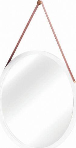 Tempo Kondela Zrcadlo LEMI 1, bambus/bílá + kupón KONDELA10 na okamžitou slevu 3% (kupón uplatníte v košíku)
