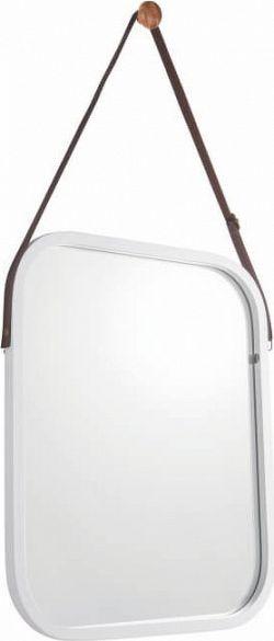 Tempo Kondela Zrcadlo LEMI 2, bambus/bílá + kupón KONDELA10 na okamžitou slevu 3% (kupón uplatníte v košíku)