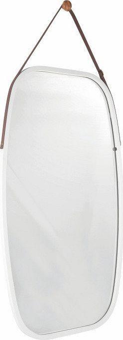 Tempo Kondela Zrcadlo LEMI 3, bambus/bílá + kupón KONDELA10 na okamžitou slevu 3% (kupón uplatníte v košíku)