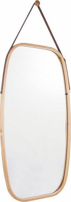 Tempo Kondela Zrcadlo LEMI 3, přírodní bambus + kupón KONDELA10 na okamžitou slevu 3% (kupón uplatníte v košíku)