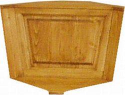 Unis Dřevěná lavice plná 00527 roh