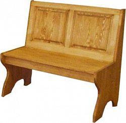 Unis Dřevěná lavice plná malá 00528