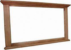 Unis Zrcadlo s dřevěným rámem 00932 kód 00930 120x6x60