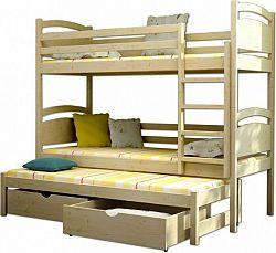 Vomaks Patrová postel s přistýlkou PPV 002 - 1213/BAR20