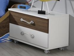 Dětský úložný kontejner/noční stolek Drake