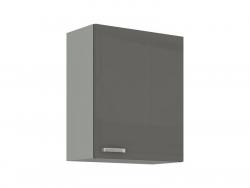 Horní kuchyňská skříňka Grey 60G-72, 60 cm