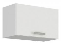 Horní kuchyňská skříňka Latte 60OK-40, bílý lesk, šířka 60 cm