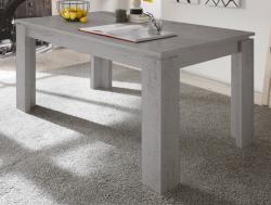 Jídelní stůl Universal 160x90 cm, šedý beton
