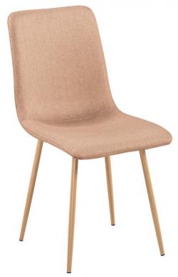Jídelní židle Bjorn, béžová látka