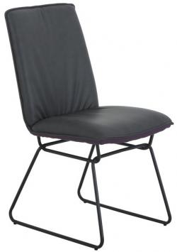 Jídelní židle Henrieta, šedá/fialová