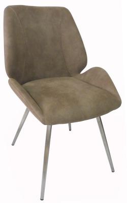 Jídelní židle Rose, světle hnědá