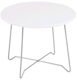 Konferenční stolek Eddie, bílý