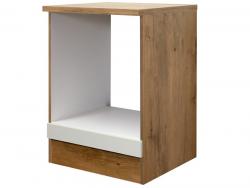 Kuchyňská skříňka pro vestavnou troubu Avila HU60, dub lancelot/krémová, šířka 60 cm