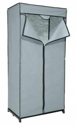 Látková skříň Revow 8052, šedá
