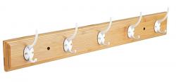 Nástěnný věšák Bamboo, šířka 61 cm