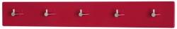 Nástěnný věšák Edmond 42457, červený lesk