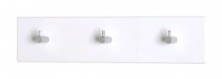 Nástěnný věšák Edmond 42656, bílý lesk