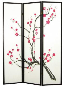 Paraván FW1086, motiv kvetoucího stromu
