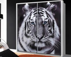 Šatní skříň Yanis, motiv tygr