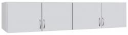 Skříňový nástavec Case, 181 cm, bílý