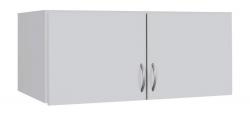 Skříňový nástavec Case, 91 cm, bílý