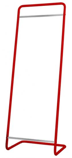 Stojací věšák Modul 1520, červený