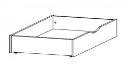 Úložná zásuvka pod postel Mosbach, dub Stirling