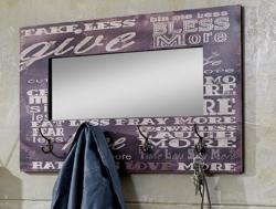 Věšákový panel se zrcadlem Mave 4 (89940)