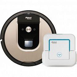 iRobot Roomba 966 + IROBOT BRAAVA JET 240