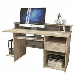P4 - Kancelářský stůl (dub sonoma)