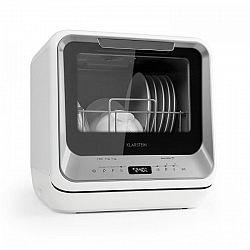 Klarstein Amazonia Mini, myčka nádobí, 6 programů, LED displej, stříbrná