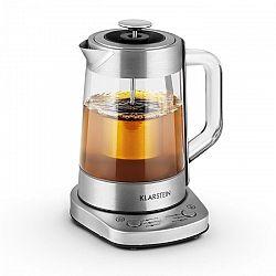 Klarstein Assam Express, vařič čaje, 1.5 l, 1500 W, sítko na čaj, nerezová ocel