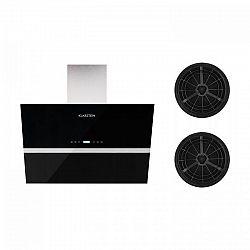 Klarstein Aurea VII, odsavač par, set filtrů s aktivním uhlím, 90 cm, černá barva