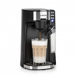 Klarstein Baristomat, 2 v 1 plně automatický kávovar, káva a čaj, mléčná pěna, 6 programů