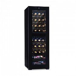 Klarstein Bellevine Deux 39 Flex, vinotéka, chladnička, 2 zóny, 105 l, 39 lahví