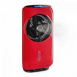 Klarstein Cool Tropic, stojanový ventilátor se zvlhčovačem vzduchu, 48 W, 2820 m³ / h, červený